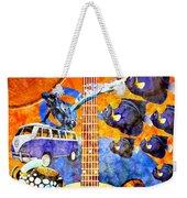 Melodies And Sunset Seas Weekender Tote Bag