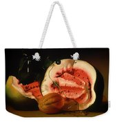Melon And Morning Glories Weekender Tote Bag