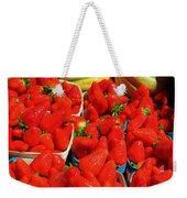 Melons And Strawberries Weekender Tote Bag