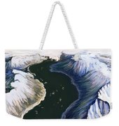 Melting Glacier 3 Of 3 Weekender Tote Bag