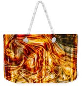 Melting Gold Weekender Tote Bag