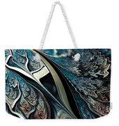 Melting Point Weekender Tote Bag by Anastasiya Malakhova