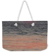 Melting Sun Into The Cool Sea Weekender Tote Bag