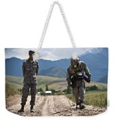 Member Of The Kyrgyz Republic Searches Weekender Tote Bag