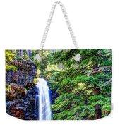 Memorial Falls In Montana Weekender Tote Bag