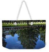 Memorial Reflecting Pool Weekender Tote Bag