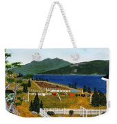 Memories Of Monday Weekender Tote Bag