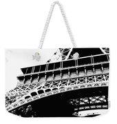 Eiffel Tower Silhouette Weekender Tote Bag