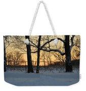 Memories Of Winter Weekender Tote Bag