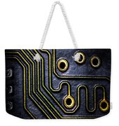 Memory Chip Number Two Weekender Tote Bag