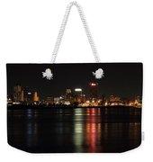 Memphis Tn Skyline At Night Weekender Tote Bag