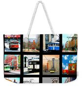 Memphis Trolleys Weekender Tote Bag