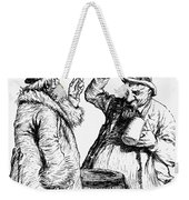 Men Drinking, 1900 Weekender Tote Bag