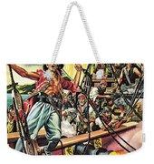Men Of The Jolly Roger Weekender Tote Bag by Ron Embleton
