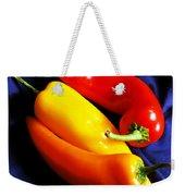 Menage A Trois Peppers Iv Weekender Tote Bag