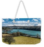Menai Bridge 1819 Weekender Tote Bag