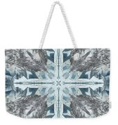 Mendenhall Glacier Cross Weekender Tote Bag