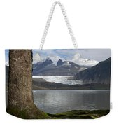 Mendenhall Glacier In Late Fall Weekender Tote Bag