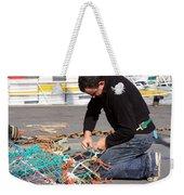 Mending The Nets Weekender Tote Bag