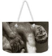 Menelaus Supporting The Body Of Patroclus Weekender Tote Bag