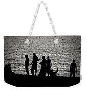 Mennonite Sunset Weekender Tote Bag