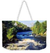 Menominee River At Piers Gorge, Upper Weekender Tote Bag