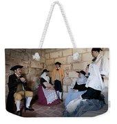 Menorquins Dress And Suit  Back In Time Xviii Century Weekender Tote Bag