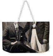 Men's Fashion, 1917 Weekender Tote Bag