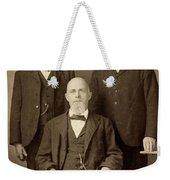 Men's Fashion, C1895 Weekender Tote Bag
