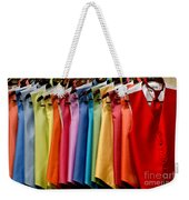 Mens Tuxedo Vests In A Rainbow Of Colors Weekender Tote Bag