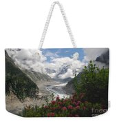 Mer De Glace - Sea Of Ice Weekender Tote Bag