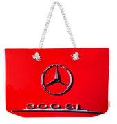 Mercedes 300 Sl Emblem -0121c Weekender Tote Bag