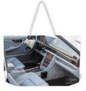 Mercedes 560 Sec Interior Weekender Tote Bag