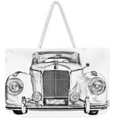 Mercedes Benz 300 Luxury Car Illustration Weekender Tote Bag