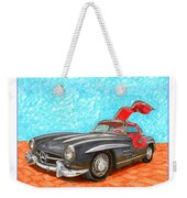 Mercedes  Benz 300 S L Gull Wing Weekender Tote Bag