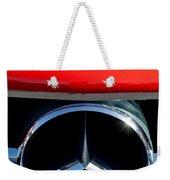 Mercedes-benz 300 Sl Grille Emblem Weekender Tote Bag