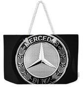 Mercedes-benz 6.3 Gullwing Emblem Weekender Tote Bag