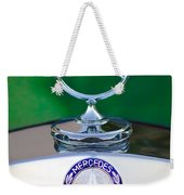 Mercedes Benz Hood Ornament 3 Weekender Tote Bag