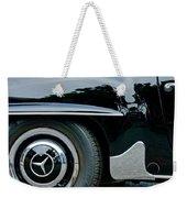 Mercedes-benz Wheel Emblem Weekender Tote Bag