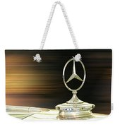 Mercedes Hood Ornament Weekender Tote Bag