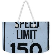 Mercedes Speed Limit 150 Weekender Tote Bag