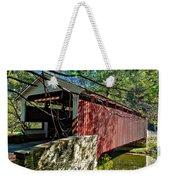 Mercers Mill Covered Bridge Weekender Tote Bag