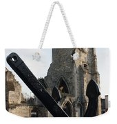 Merchant Sailors Memorial With Q.e.2 Anchor Weekender Tote Bag