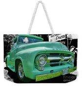 Mercury Truck Bw Background Weekender Tote Bag