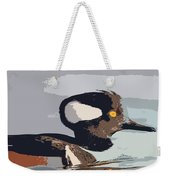 Merganser Reflections Weekender Tote Bag