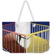 Merging Steps Weekender Tote Bag by Robert Woodward