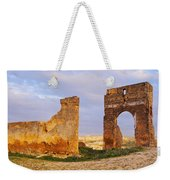 Merinid Tombs Ruins In Fes In Morocco Weekender Tote Bag