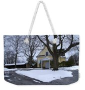 Merion Meeting House - Narberth Pa Weekender Tote Bag by Bill Cannon