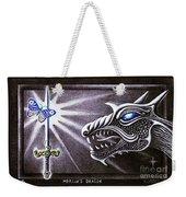 Merlin's Dragon Weekender Tote Bag