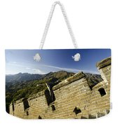 Merlon View At The Great Wall 1046 Weekender Tote Bag